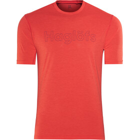 Haglöfs Ridge Tee Herr pop red